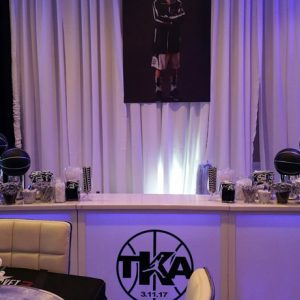 TKA Bar Top Table Centerpieces