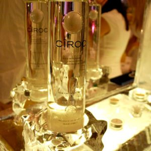 "Ciroc Campaign Ice Carving - 30"" x 20"", 1 Block"