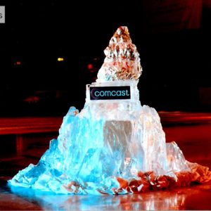 Comcast Iceberg Corporate Event