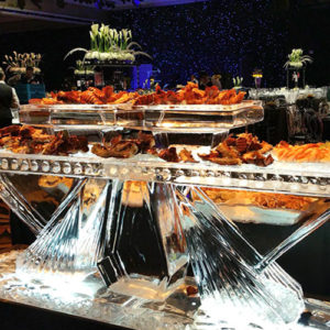 Floor Standing Seafood Table