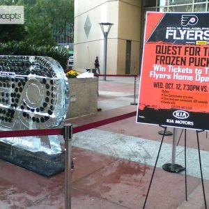 Quest For The Frozen Pucks Flyers Home Opener Promotion