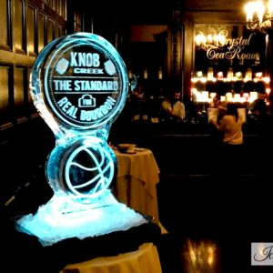 "Knob Creek Promotion Ice Carving - 20"" x 40"", 1 Block"