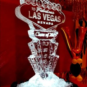 Welcome to Las Vegas Ice Sculpture