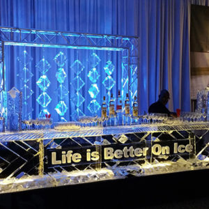 16 Foot Mitzvah Ice Bar