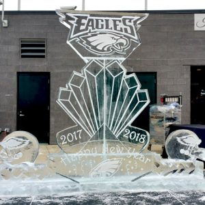 Eagles New Year's Eve Live Ice Carving Exhibition