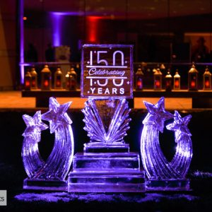 Einstein Health 150th Live Ice Carving Exhibition