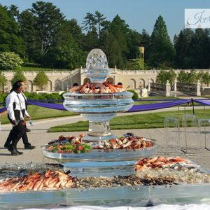 Ice Seafood Fountain