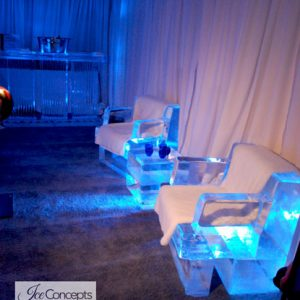 Lounge Environment With Ice Bar