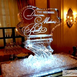 "Melmark Pennsylvania Annual Gala Ice Carving - 35"" x 40"", 1.5 Blocks"