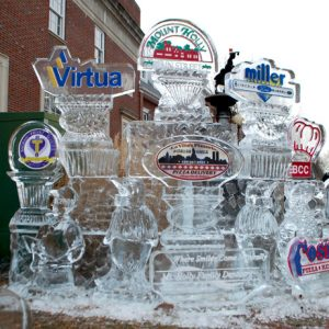 Large Sponsor Display - 2015 Fire and Ice Festival, Mount Holly, NJ