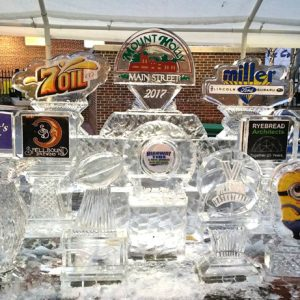 Large Sponsor Display - 2017 Fire and Ice Festival, Mount Holly, NJ