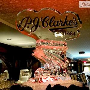 PJ Clarkes Logo Luge