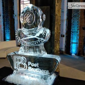 "Post Brothers Promotion Ice Carving - 35"" x 45"", 2 Blocks"
