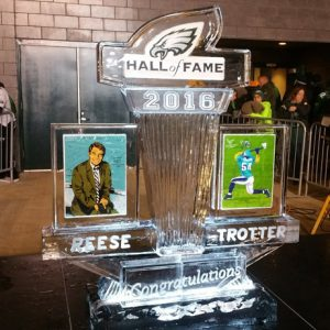 Reese, Trotter Hall Of Fame Live Ice Carving Exhibition