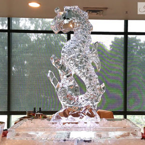 Seahorse With Ice Tray