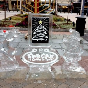 Suburban Square Shopping Center-2 Live Ice Carving Exhibition