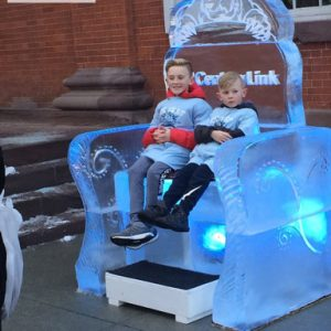 Ice Throne - 2018 Carlisle Ice Art Fest