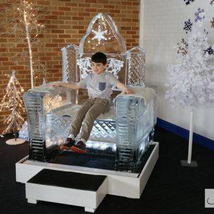 Ice Throne - 2017 Laurel Park Winter Festival, Laurel, MD