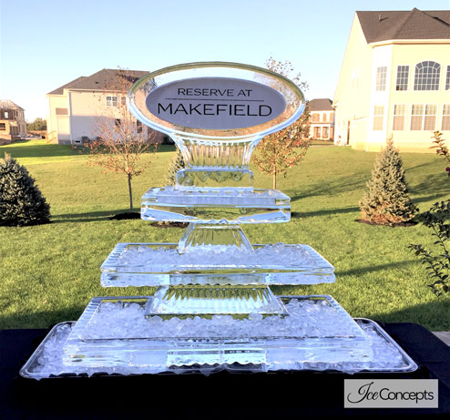 Marketing Campaign Sculptures - Ice Concepts