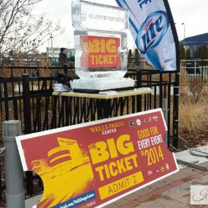 Wells Fargo Center Big Ticket Promotion - 2 Blocks