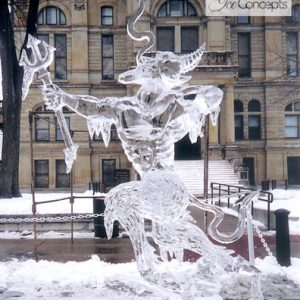 """When Hell Freezes Over"" Ashland On Ice Festival"